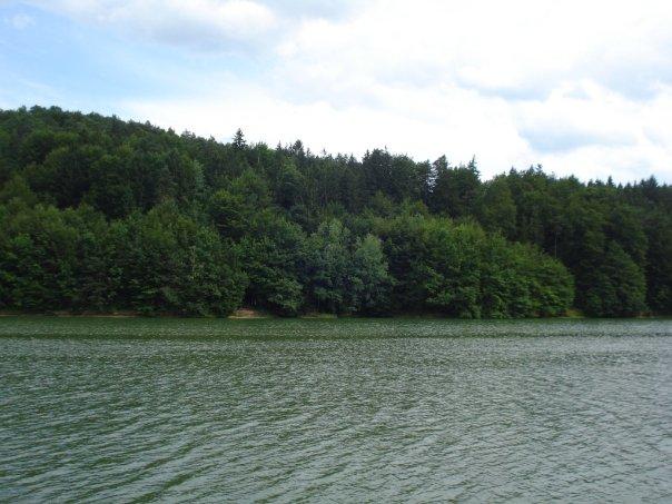 Smartinsko jezero v bolj divji izdaji