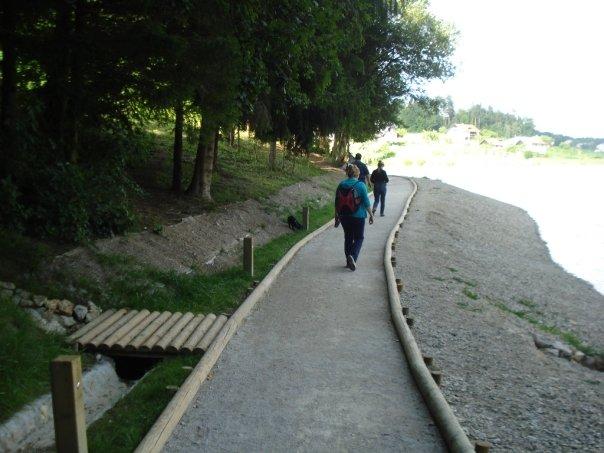 Ena od sprehajalnih poti