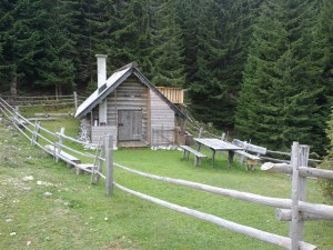 A cattle herder's cabin